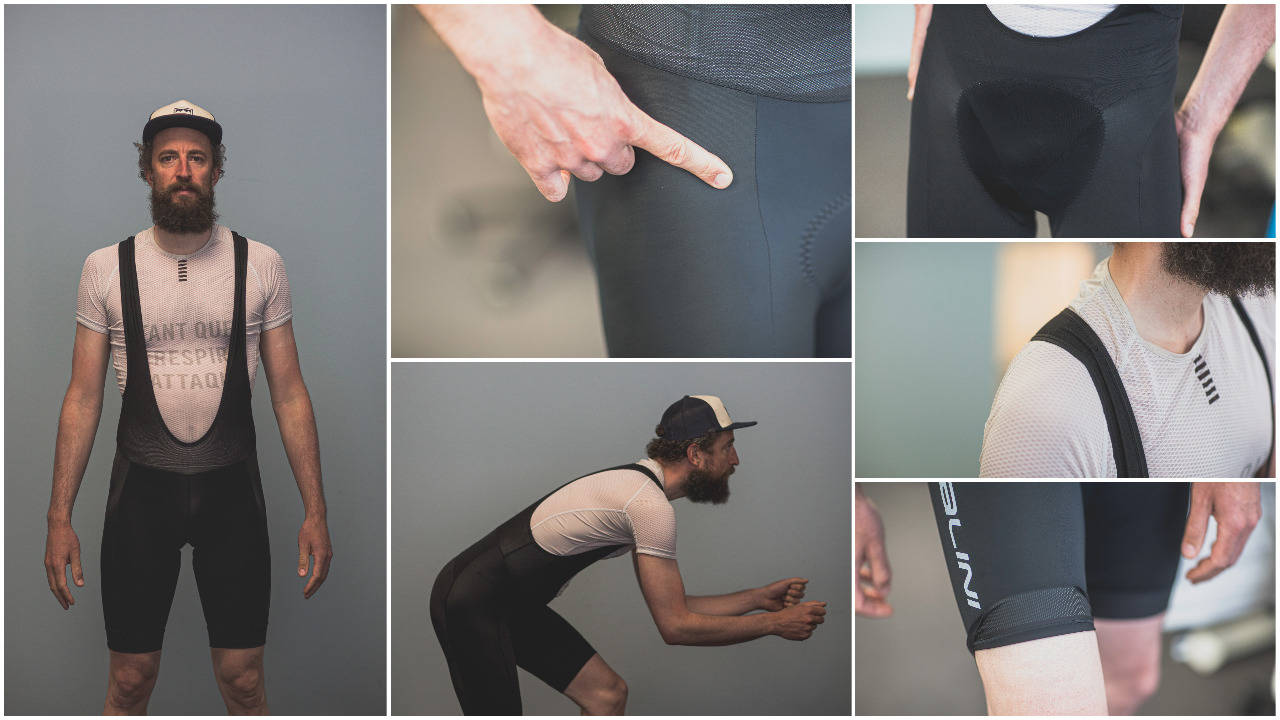 BESTE KJØP: I denne testen tar vi for oss bukser fra Gore Wear, Nalini, Pearl Izumi og Craft. Foto: Kristoffer Kippernes.