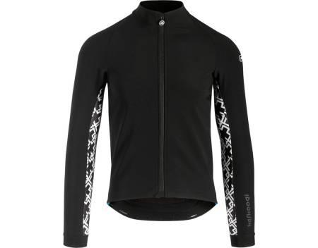 NEDTONET: Assos Mille GT winter jacket har mange skjulte detaljer, men ser ganske nøytral ut.