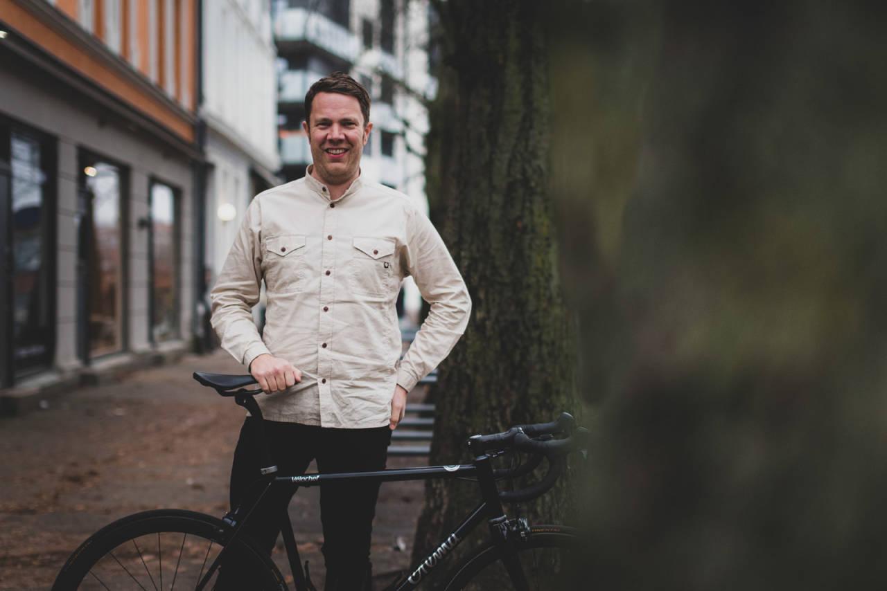 NYTT KONSEPT: Henrik «Vélochef» Orre har planene klare for ny café og samlingssted i Oslo. Foto: Henrik Alpers.