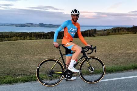 Vidar Mehl sikter mot ny rekord for 24-timers sykling
