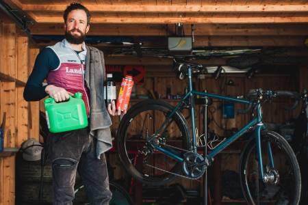 Slik vasker du kjedet på sykkelen din