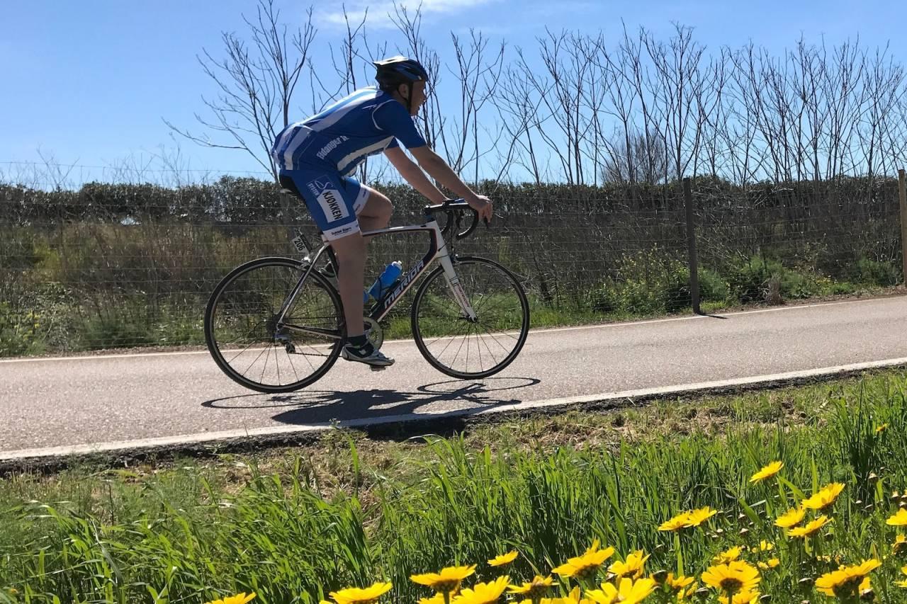 Eidanger IL sykler Styrkeprøven på gamle E18