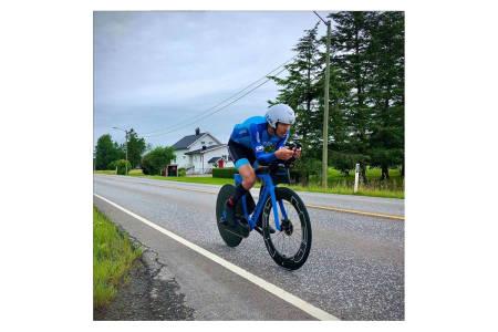 Allan Hovda norgesrekord 24t sykling