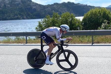 Jone Ellingsen fra Sandnes SK vant Dalane tempo