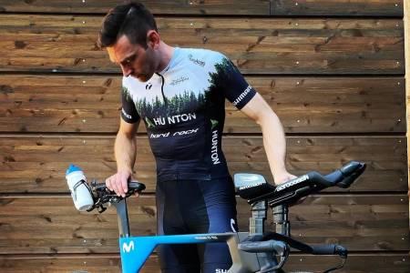Vidar Mehl er spent på om han klarer å sette ny verdensrekord på 24 timer sykling utendørs