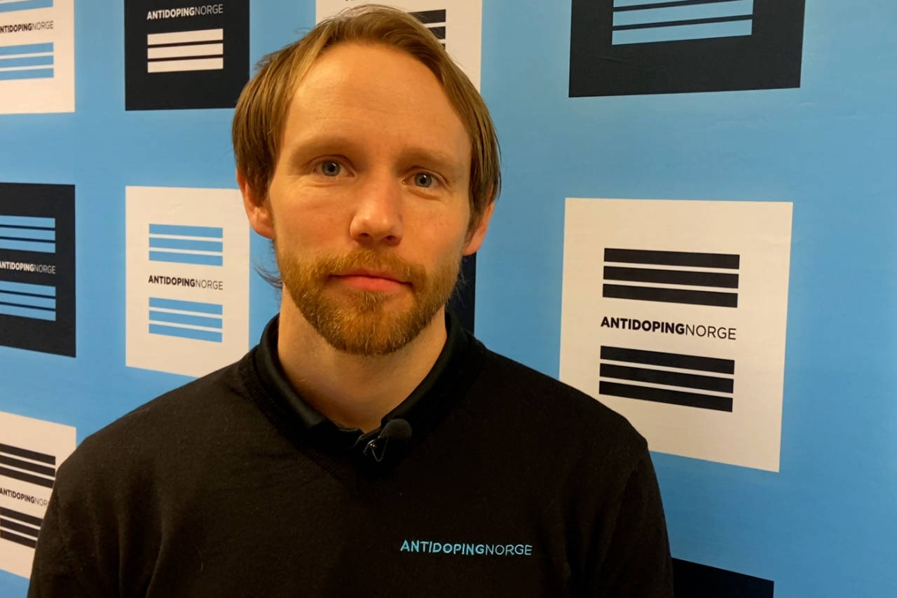 Geir Holden i Antidoping Norge