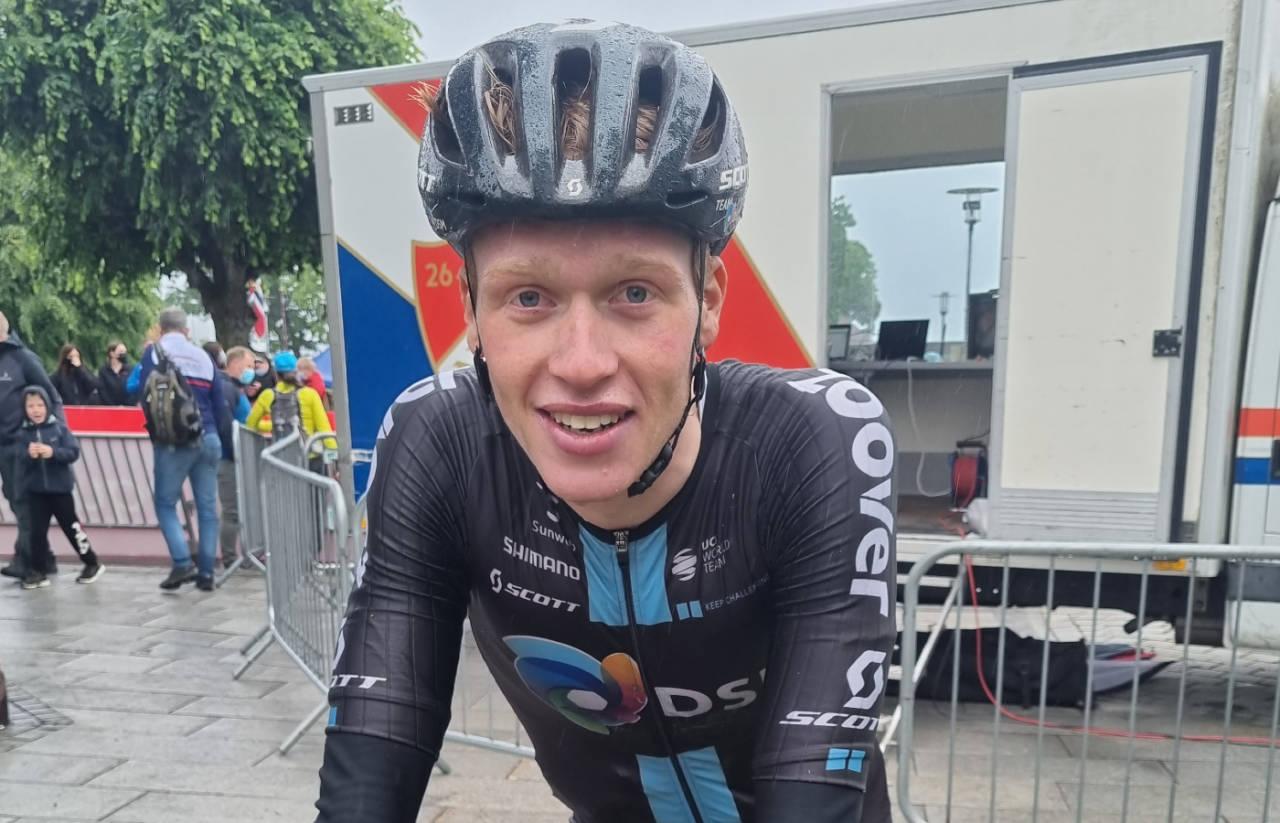 GA ALT: Andreas Leknessund forsøkte, men endte opp uten medalje. Han var likevel fornøyd. Foto: Knut Andreas Lone