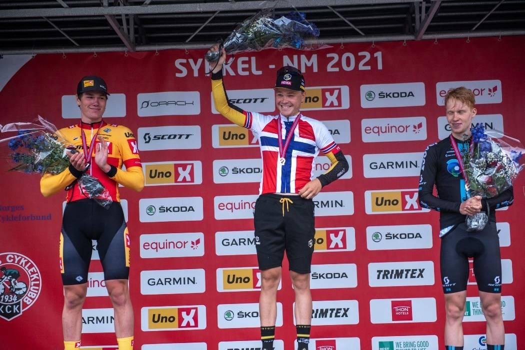 NM-GULL: Tobias Foss er norgesmester på tempo i 2021. Foto: Henrik Alpers