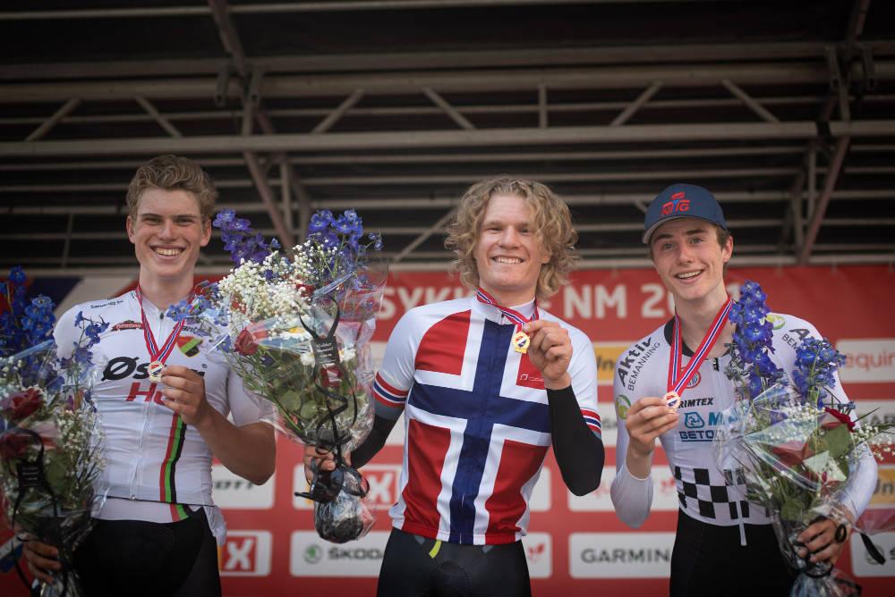 INNFRIDDE: Trym Westgaard Holther hadde lagt mye press på seg selv foran NM-tempoen i Evje. Foto: Henrik Alpers