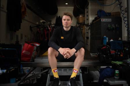 FAVORITT: Norgesmester fra 2017, Rasmus Tiller, har levert strålende denne sesongen, og er en mann alle vil se opp for søndag. Foto: Henrik Alpers