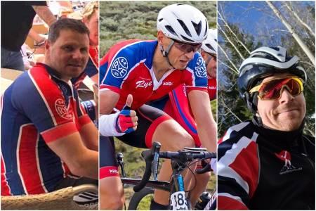 Rune Holden, Kjetil Kviseth og Thomas Hermansen testet av Antidoping Norge utenfor konkurranse.