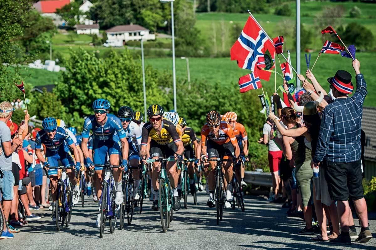 motbakkesykling motbakke bakkesykling landevei cycling Norge 71 bakker du må sykle i Norge fri flyt procycling gruppetto strava segment Sandnes Bakken Rogaland
