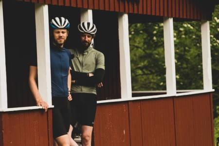 bikepacking på hytter i Nordmarka