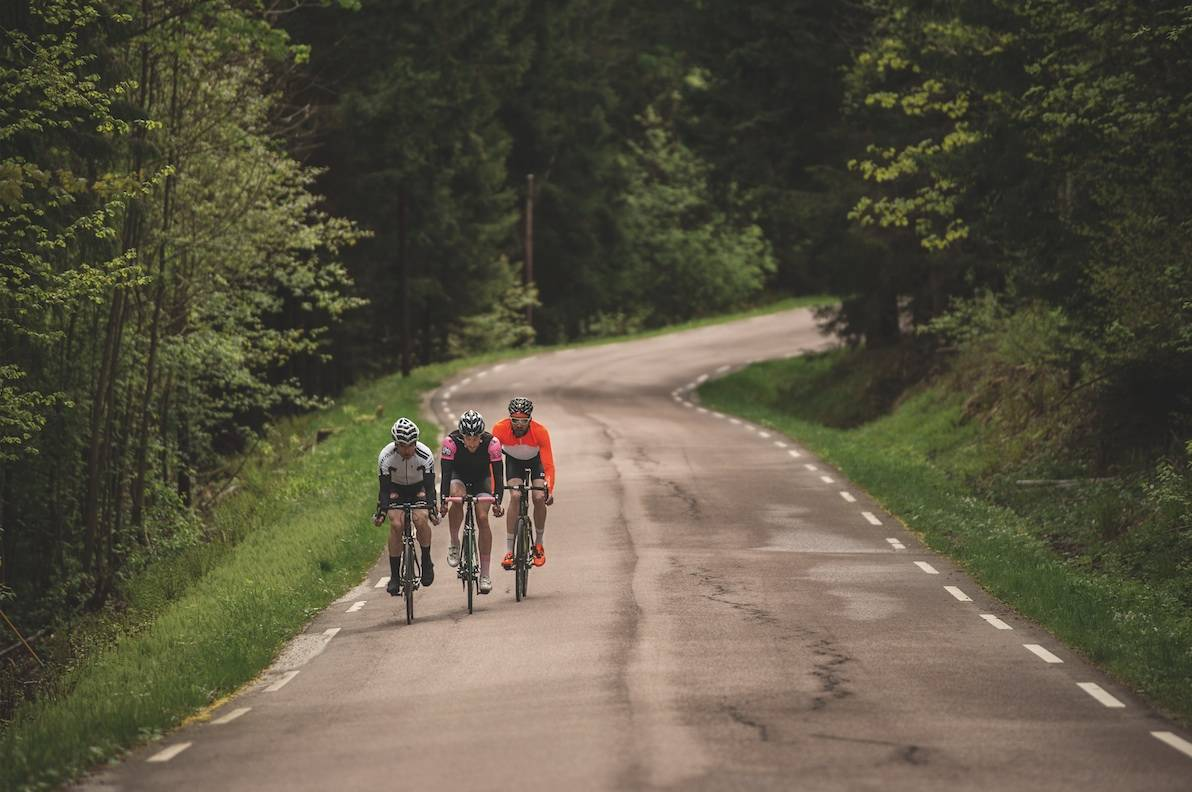KORTREIST: 15 minutter unna Drammen, på sykkel, finner du slike veier.