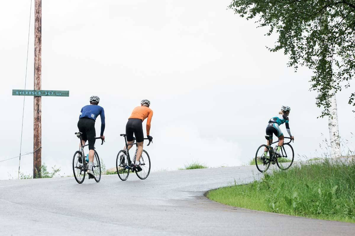 Oslo Grefsenkollen motbakkesykling motbakke bakkesykling landevei cycling Norge 71 bakker du må sykle i Norge fri flyt procycling gruppetto strava segment