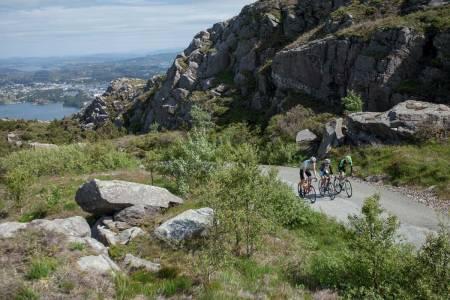 motbakkesykling motbakke bakkesykling landevei cycling Norge 71 bakker du må sykle i Norge fri flyt procycling gruppetto strava segment Øygarden Sotra Bergen Liatårnet