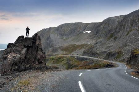 motbakkesykling motbakke bakkesykling landevei cycling Norge 71 bakker du må sykle i Norge fri flyt procycling gruppetto strava segment Seglkollen Vardø Finnmark