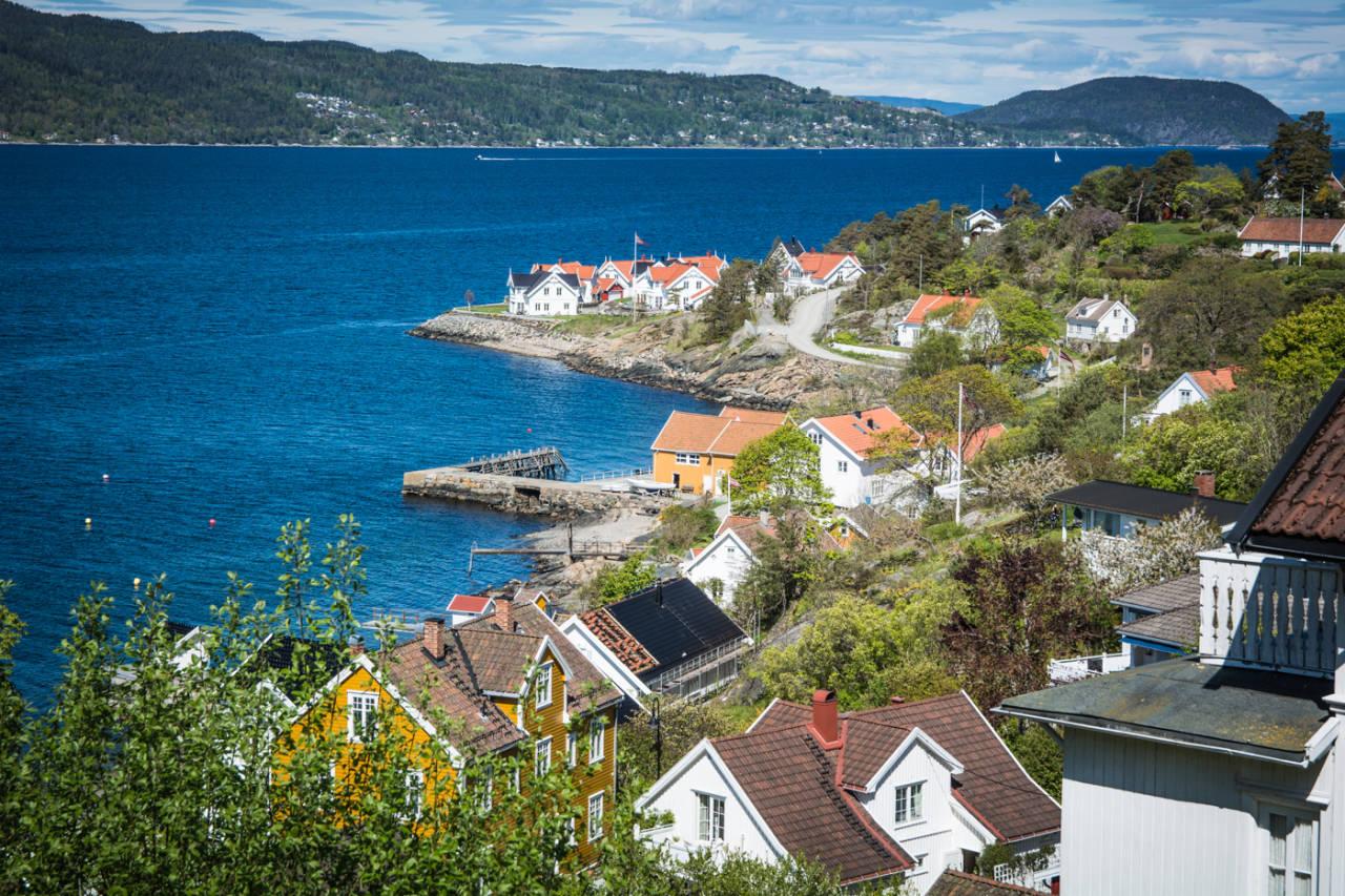 PITTORESK: Kyststripa i Follo-regionen er blant de fineste på Østlandet. Foto: Marcus Liebold.