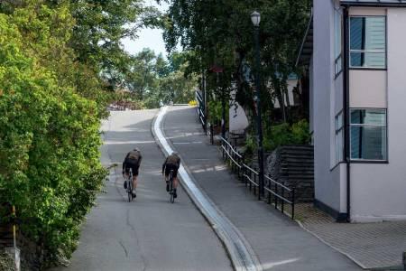 motbakkesykling motbakke bakkesykling landevei cycling Norge 71 bakker du må sykle i Norge fri flyt procycling gruppetto strava segment Trondheim Trøndelag Brubakken
