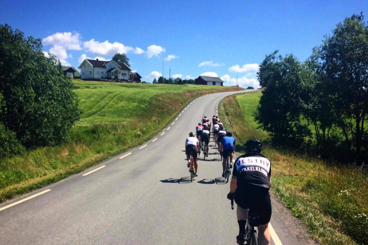 Vassumbakken Follo motbakkesykling motbakke bakkesykling landevei cycling Norge 71 bakker du må sykle i Norge fri flyt procycling gruppetto strava segment