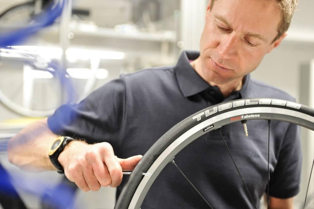 Jens Voigt tester tubeless dekk