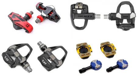 LIKE, MEN AKK SÅ ULIKE: Hva slags pedaler skal jeg velge til min nye landeveissykkel - og hvorfor?
