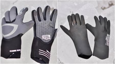 Spatzwear Neoz og Velotoze Neopren hansker