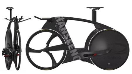 SKAL LAGE SIN EGEN SYKKEL: Adam Hansen skal bygge sin egen sykkel, hjemmefra. Alle foto: Adam Hansen