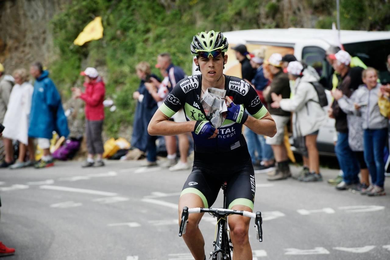 Tidlig ut: Vegard Breen forlot proffsykling etter en lovende start på karrieren. Nå lever han det han omtaler som «et vanlig liv». Foto: Kristof Ramon.
