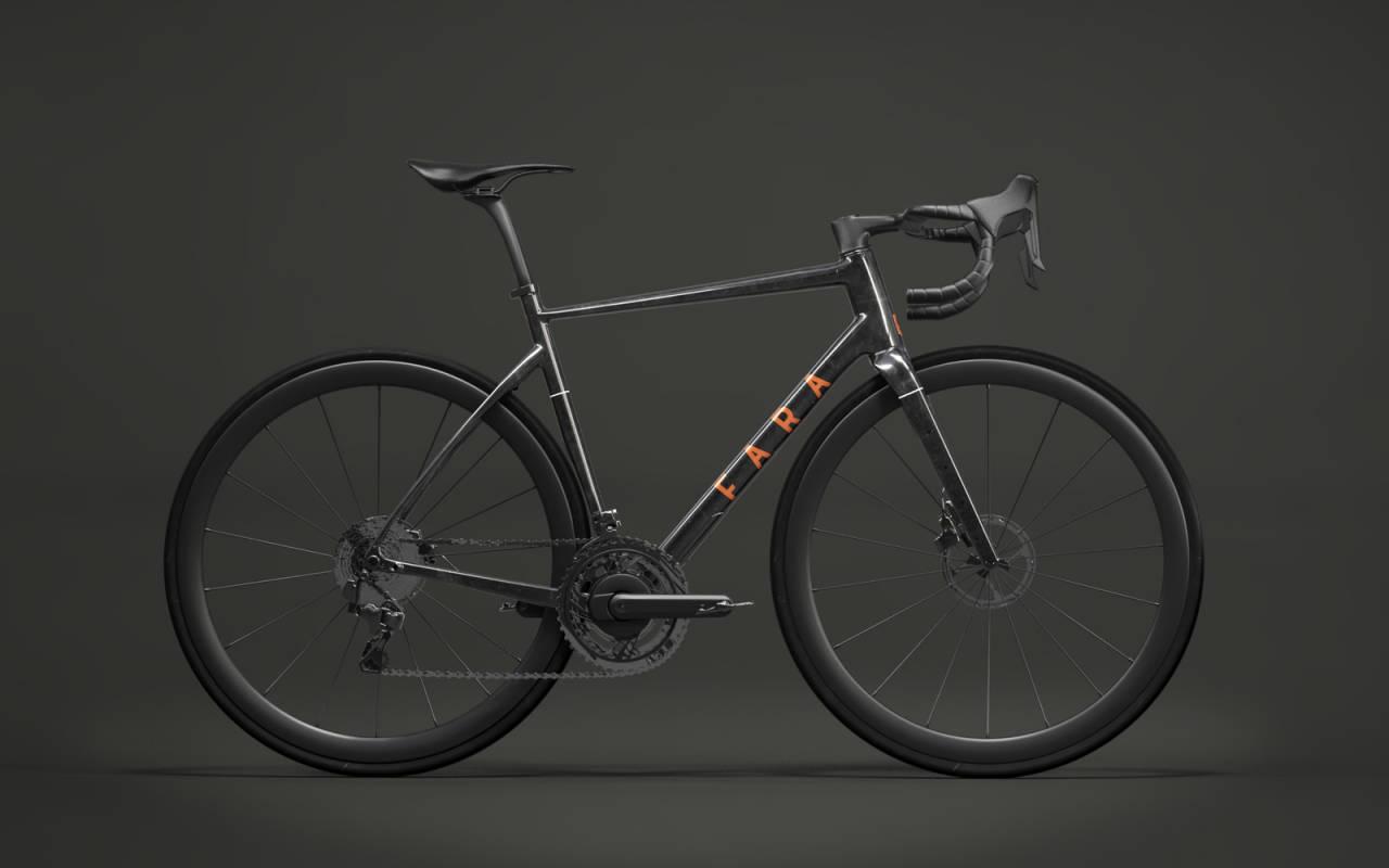 USYNLIG BIKEPACKER: Nye Fara AR er i følge Fara den første sykkelen med et helintegrert oppsett for bikepacking.