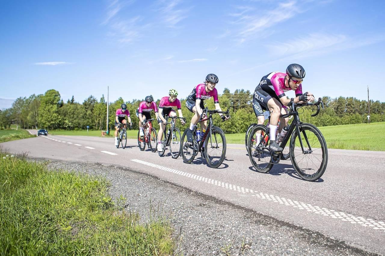 FOKUS: Johan Noraker Nossen leder Follo SK inn mot femteplassen i Landeveisritttet. Foto: Pål Westgaard