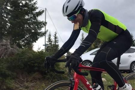 NORGESREKORD: Jonas Orset er igjen Norgesmester på 10 000 høydemeter. Foto: Stein Magnus Olafsrud