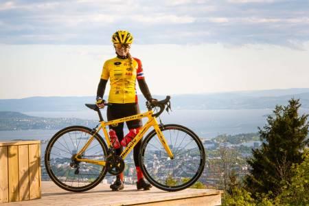 HVERDAGSHELTER: Team Rynkeby har lokallag og syklister over hele landet. Karina er en av deltagerne på Oslo-laget.