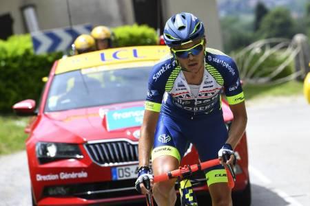 BEST OPPOVER: Odd Christian Eiking er trolig den beste klatreren av årets norske Tour de France-deltagere. Foto: Cor Vos.
