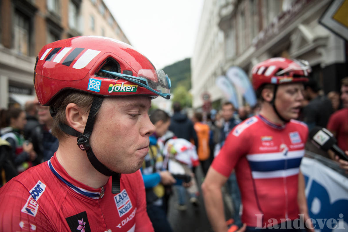 I FINALEN: Norgesmester Rasmus Fossum Tiller satt med i finalen, men angrepet hans ble nøytralisert. Foto: Henrik Alpers.