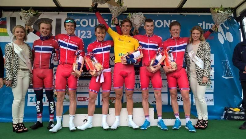 SPREK UNGDOM: Denne gjengen sørget for norsk seier i ZLM tour. Foto: NCF.