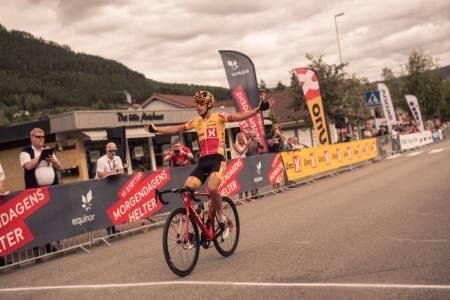 KALDT KALKULERT: Torstein Træen vant både finalen og Tour te Fjells. Foto: Henrik Alpers