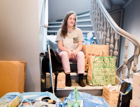 REISEKLAR: Lorenza Walker har flyttet ut av leiligheten i Oslo og er klar for å sykle rundt kloden.