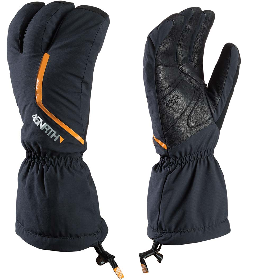 ISBRYTER: Om du ikke tar hensyn til lave temperaturer når du sykler, bør Sturmfist 4 befinne seg i din hanskeskuff.