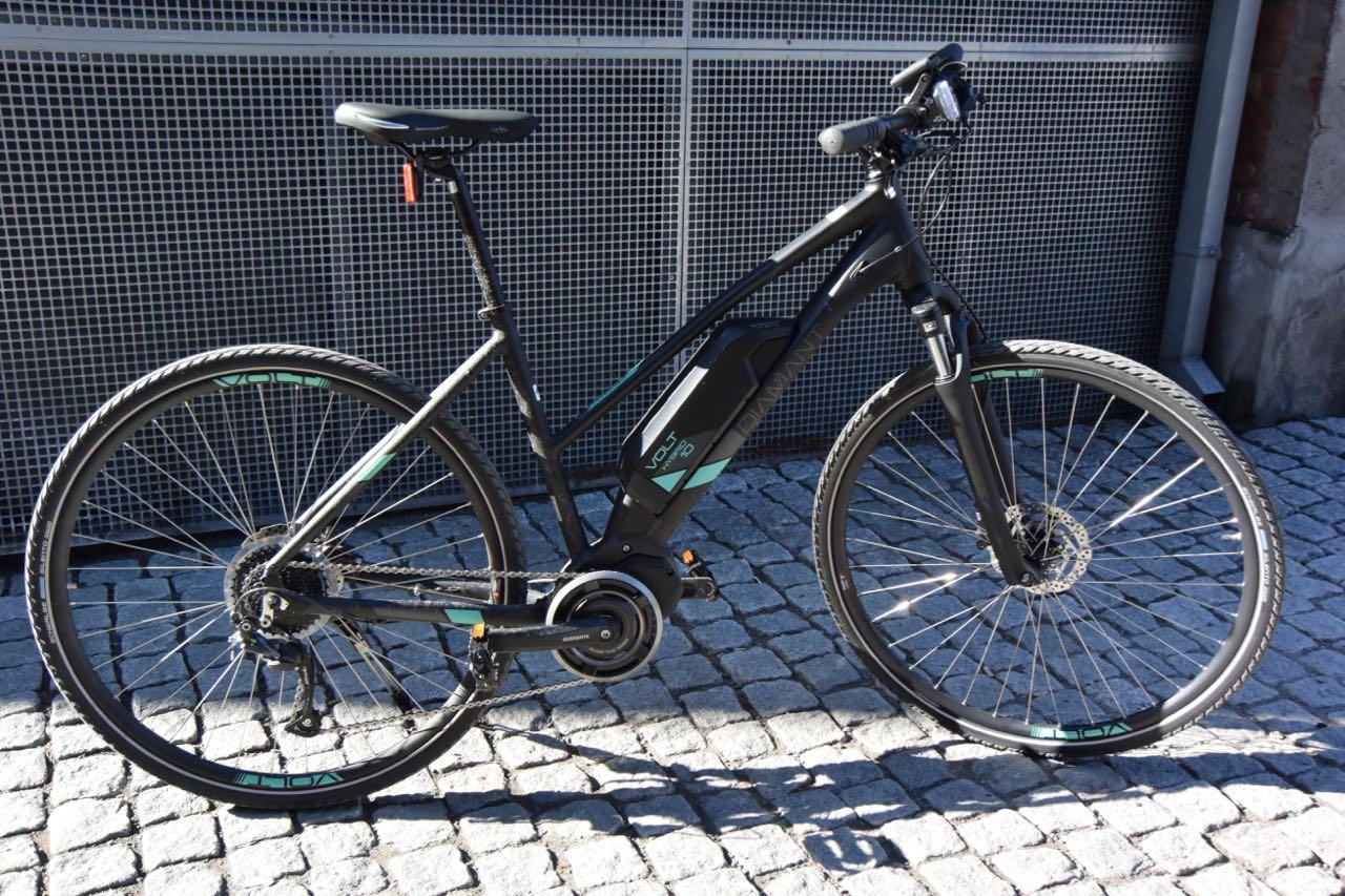 VOLT: Diamants elsykkel er lettsyklet som en vanlig sykkel.