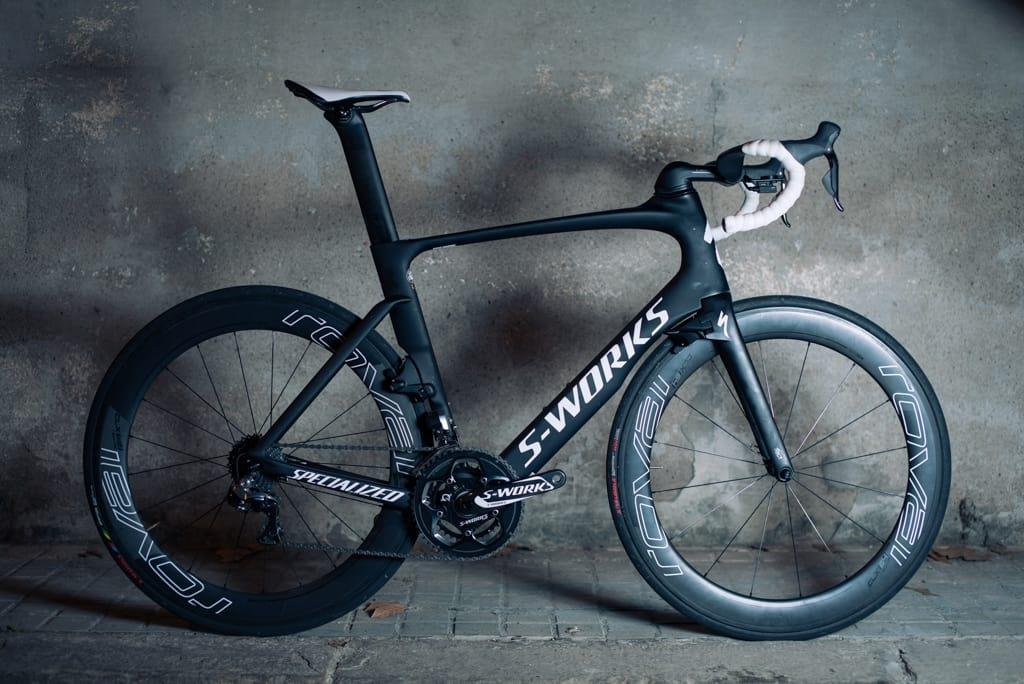 MODERSKIPET: Ingen roper høyere om at de har den mest aerodynamiske sykkelen enn Specialized. Det synes. Foto: Henrik Alpers