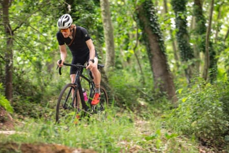 PRØVESYKLET: Vi fikk 60 km på variert veier og underlag på GTs helt nye Grade. Sykkelen er både penere og bedre enn forgjengeren.