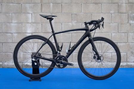 OPPHORA: Dette er samme sykkel som vant Paris-Roubaix i fjor, men som i tillegg har fått følge av raffe skivebremser.