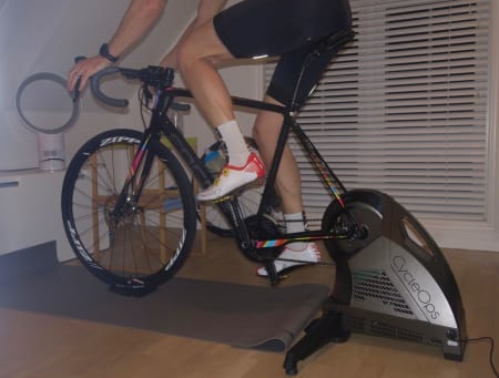 Test av CycleOps H2 smartrulle