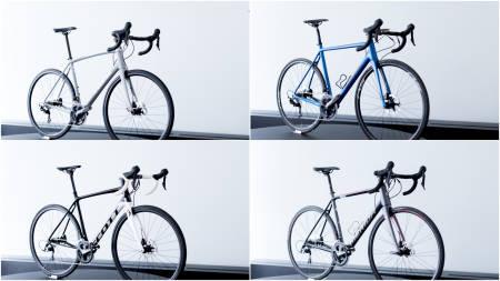 SOLIDE KJØP: De fire syklene i denne testen står seg godt mot langt dyrere modeller.