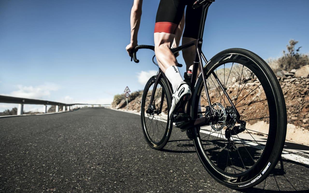 GIR GASS: Vi tok med oss samtlige hjulsett til Gran Canaria for en skikkelig test. Foto: Jimmy Hansen.
