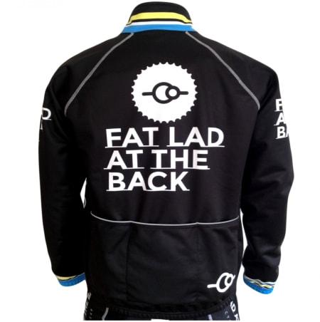 TYKKLADEN: Fat Lad at the Back - sykkelbekledning for de mange som ikke har en typisk syklistkropp.
