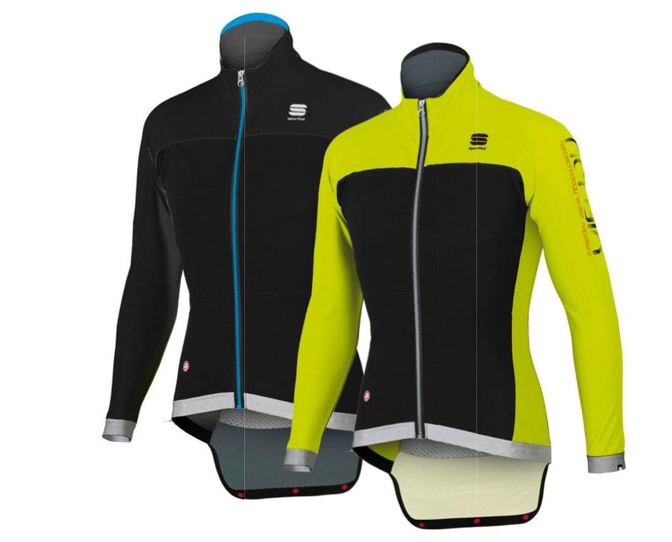 SYNLIG: For deg som er lei av den svarte moten finnes jakken i en gulsvart versjon også. Foto: Sportful.