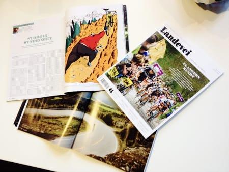 KONGE! Slik ser det nye bladet ut, og på fredag kan du diskutere innholdet med andre lesere!
