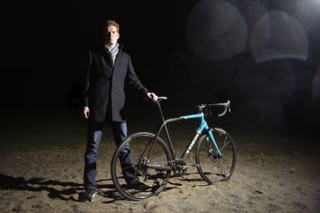 UT I SANDEN: Trek Boone 5 er en av to sykkelkrosser vi tester i det lange løp i år.